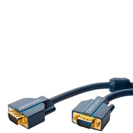 Clicktronic VGA Connection Cable - 2 m