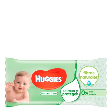 Huggies Baby Wipes Natural Care - 56 pack
