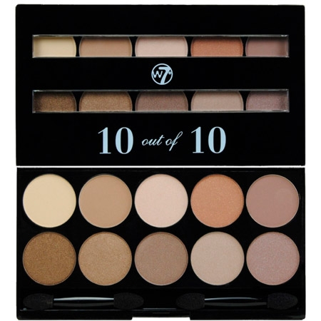 W7 Eye Shadow 10 Out Of 10 Palette