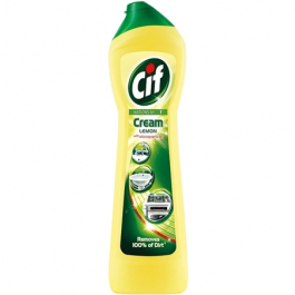 Cif Lemon Scouring Cream - 500 ml