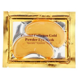 The Collage Gold Eye Mask