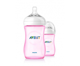 Philips Avent Natural 260 ml - 2 Pack Pink