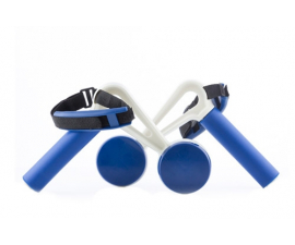 Walk & Weight hand Weights with handle – 2 parts
