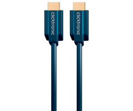 Clicktronic Ultra High Speed ​​HDMI Cable With Ethernet - 1 meter