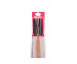 Beter Round Oakwood Hairbrush with Mixed Teeth - 45mm