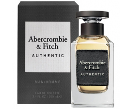 Abercrombie & Fitch Authentic Man - Eau de Toilette 100 ml