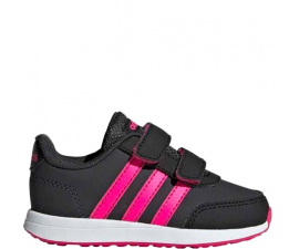 Adidas VS Switch 2 CMF Children's Shoe - Black & Pink