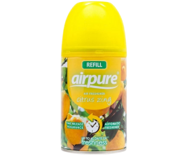 Airpure Air Fresh Citrus Zing Air Freshener Refill - 250 ml