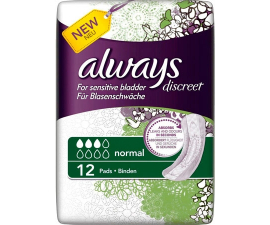 Always Discreet Normal - 12 items