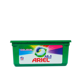 Ariel All In 1 Colour Washing Pods - 19 pcs