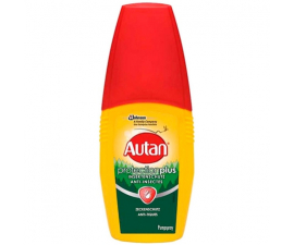 Autan Protection Plus Mosquito- og Anti Tick Spray - 100 ML