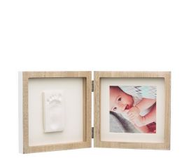 Baby Art Wooden Collection Double-sided Frame