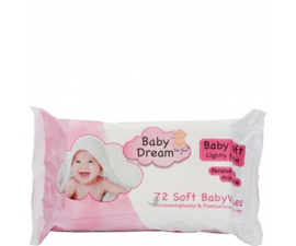 Baby Dream Original Wet Wipes pack of 72