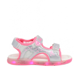 Barbie Sandals M. LED - Silver