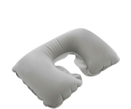 BasicPlus Inflatable Neck Pillow  - Grey
