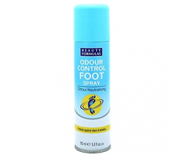 Beauty Formulas Odour Control Foot Spray - 150 ml