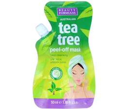 Beauty Formulas Tea Tree Peel-off Facial Mask - 50 ml