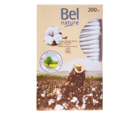 Bel Nature Organic Cotton Buds - 200 pcs