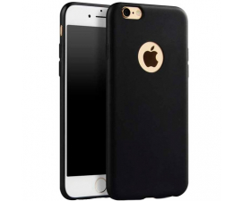 BasicPlus iPhone 8 Cover - Black