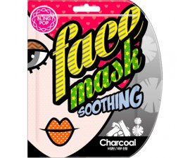 Bling Pop Charcoal Sheet Maske
