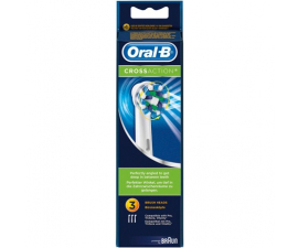 Oral-B Cross Action Toothbrushrush Heads - 3 items