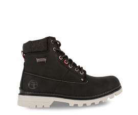 Carrera Laced Boots - Black
