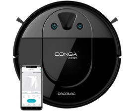 Cecotec Conga 2290 Panoramic 4-i-1 Robot Vacuum Cleaner