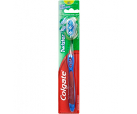 Colgate Twister Medium Toothbrush - Blue