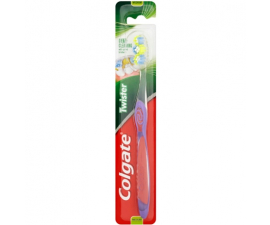 Colgate Twister Medium Toothbrush - Purple