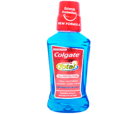 Colgate Total Protection Peppermint Blast Mouthwash - 250 ml