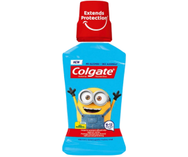 Colgate Minions 6-12 Year Mouthwash - 250 ml