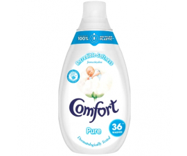 Comfort Pure Concentrated Fabric Softener - 540 ml