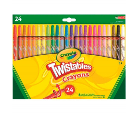 Crayola Twistables Crayons - 24 PCS