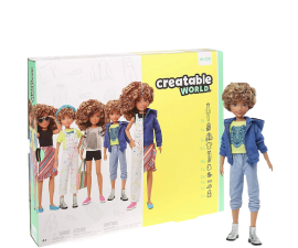 Creatable World Deluxe Doll - Light Curly Hair