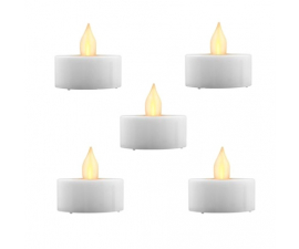 Day LED Tea lights - 5 pieces