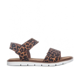 Duffy Sandals - Leopard