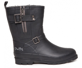 Duffy Rubber Boot - Black