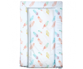 East Coast Shift Mat - Coral Feathers
