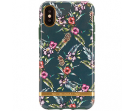 Richmond & Finch Emerald Blossom Mobil Cover - iPhone X/XS