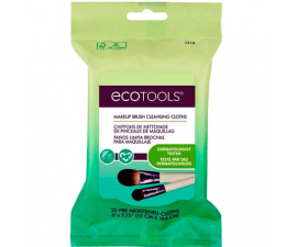 EcoTools Cleansing Cloths for Makeup Brushes - 25 pcs