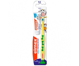 Elmex Learning Toothbrush & Toothpaste 0-2 Year - Yellow