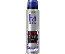 Fa Men Active & Pure Deodorant - 150ml