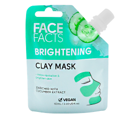 Face Facts Brightening Clay Face Mask - 60 ml