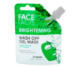 Face Facts Brightening Gel Face Mask - 60 ml