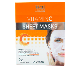 Face Facts Vitamin C Sheet Mask - 2 pcs