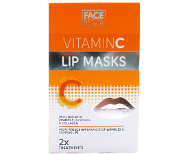 Face Facts Vitamin C Lip Mask - 2 pcs