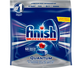 Finish Powerball Quantum Washing Up Tabs - 60 pack