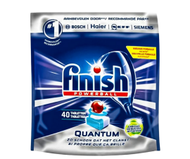 Finish Powerball Quantum Dishwasher Tablets - 40 Pieces
