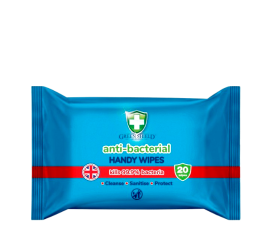 Green Shield Anti-Bacterial Cleaning Wipes - 20 Wipes
