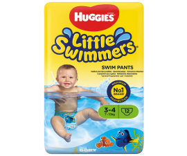 Huggies Little Svimmers Swim Nappies 7-15kg - 12 Nappies
